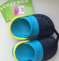 New, Crocs, p.20-21, up to 13 cm
