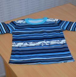 T-shirt yeni çocuk Rusya'da son giren
