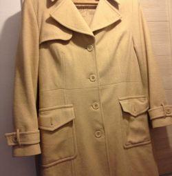 Пальто б/у размер 48
