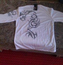 футболка с длинным рукавом( новая)