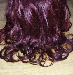 Beautiful wig with curls