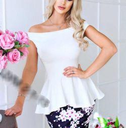 Μπλούζα + φούστα