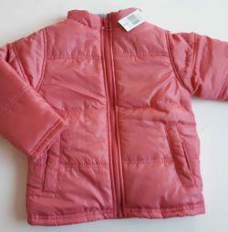 Нова демісезонна куртка р.110