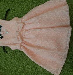 Kız için şık elbise 98r