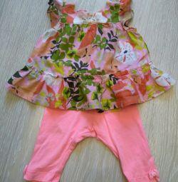 Комплект Zara на дитину 6-9 місяців