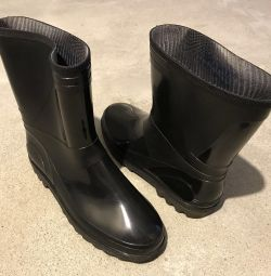 PVC rubber boots (New)