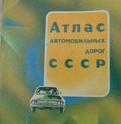 Atlas of the USSR Highways 1986