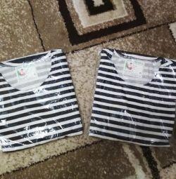 Stripped vests