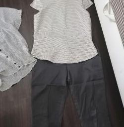 Брюки блузки