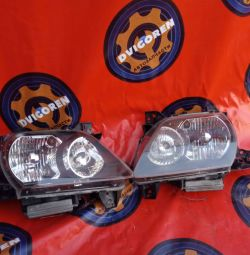 Headlights on Mazda MPV