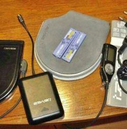 Slimx iRiver iMP-900 player με πρωτότυπο