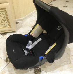 Pat pentru scaunul de masina nou BritaX