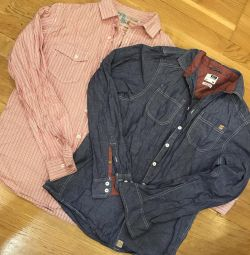 Two cropp and o'stin M shirts