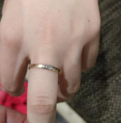 Soviet-era diamond ring