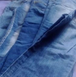 Jeans for 13 14 years old boy different 7 pcs