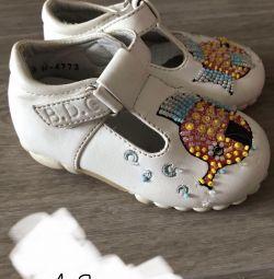 Sandale de 13 cm branț