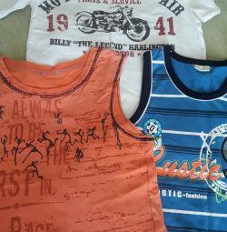 Tricouri, cămașă de 6-7 ani