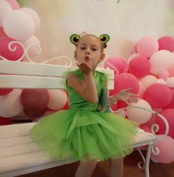 Κοστούμια βάτραχος Princess για χορό