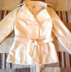 Short coat milky white MaxMara