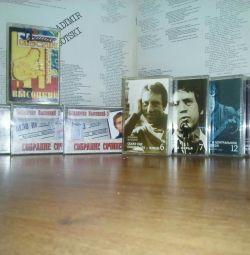 Продам аудиокассеты В.Высоцкого