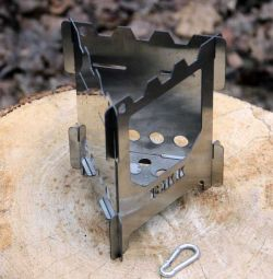 Stove-stove shaker, three-wall