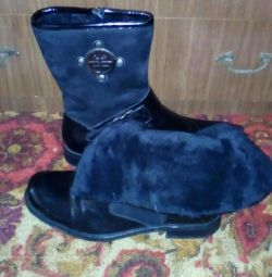 Men's winter boots. New ones. Size 42