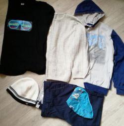 Одежда пакетом на мальчика 8-10 лет