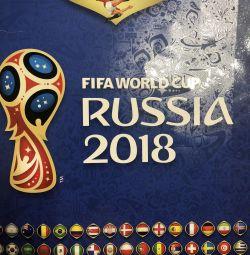 Panini fifa Russia 2018 наклейки