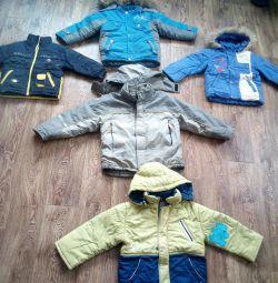 Jackets 1-6 years