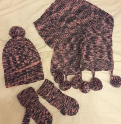 New set knitted