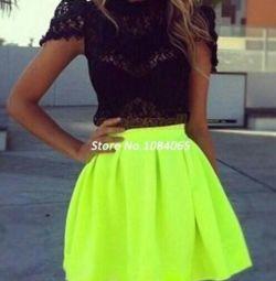 Skirt neon, new