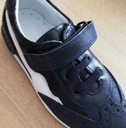 Ortopedik deri spor ayakkabı