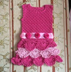 Rochie nouă tricotată