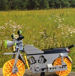 Bike from Lego