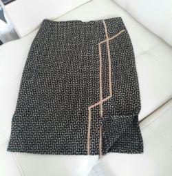 Warm winter skirt