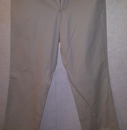 Lee branded trousers