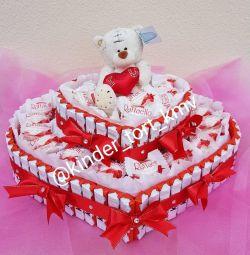 Kinder cake the lowest prices for KMV