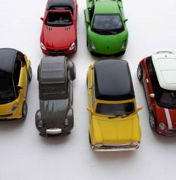Машинки инерционные 6 шт