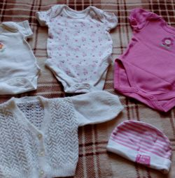 Package for girls 0-6 months