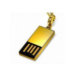 2gb USB golden flashdrive computer USB flash drive for 2