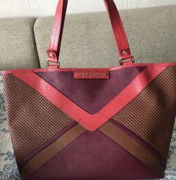 Δερμάτινη τσάντα Juicy Couture