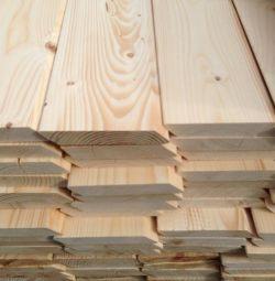 Planken straight / sloping Pine grade A