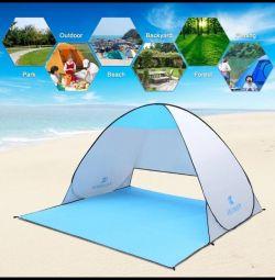 Balıkçılık ve piknik için hızla katlanan çadır