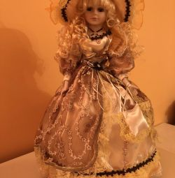 Table lamp doll