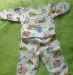 Ζεστή παιδική πιτζάμες