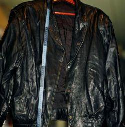 куртка (Натур, шкіра, на ґудзиках, р. 50-52)