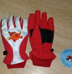 Mănuși noi pentru 5-6 ani