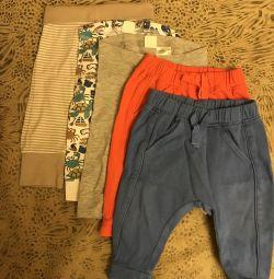 Пакет вещей на мальчика 74 р-р, 900 р