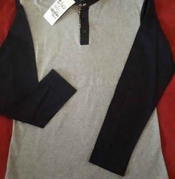 Cămașă tricotată cu 3 butoane