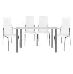 SET TABLES 5 TABLES ALAN 120X70-KIM ALUMINUM TABLE